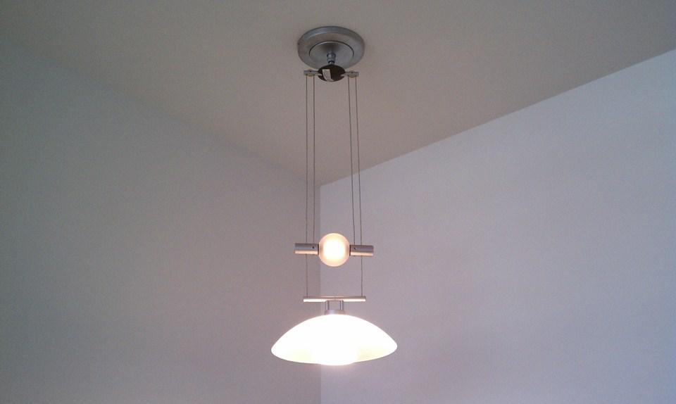 Pendant lighting installation : Oc art and light installation orange county